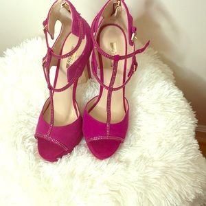 Pink Guess Heels